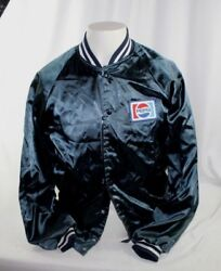 Vintage 80s Pepsi Cola Menand039s Uniform Jacket Usa Made By Riverside Small 34/36