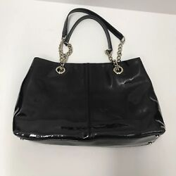 KATE SPADE Women's Satchel Hand Bag Solid Black Purse FREE AND FAST SHIPPING