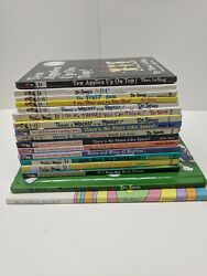 Lot of 17 Dr. Seuss Hardcover Books The Cat in the Hat PD Eastman etc