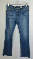 Ag Adriano Goldschmied Angel Bootcut Size 28r Light Wash Womenand039s Jeans Altered