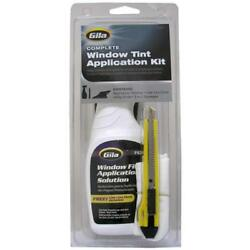 Car Window Film Tint Application Solution Kit Utility Knife Rubber Squeeze Lint