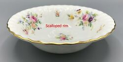 Minton Marlow Coupe Cereal Bowl S S-309 Wreath Backstamp