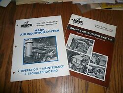 Mack Service Operation Charge Air Cooling System And Air Induction Systems