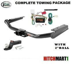 Curt Trailer Hitch Package W Fusion Mount For 2014-2019 Toyota Highlander 13200