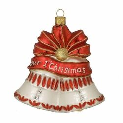 Waterford Holiday Heirlooms Christmas Ornament Our 1st Christmas -- New In Box