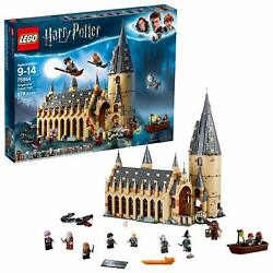LEGO Harry Potter Set Hogwartz Great Hall Kids Building Kit Christmas Gift Pack