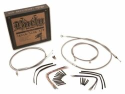 Burly Brand Extended Cable Kit For 18in Bars On Harley Softails - B30-1058