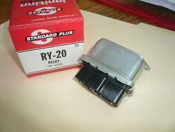 1976 - 92 Gm Standard Motor Products A/c Compressor Control Relay Ry-20