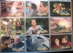 Star Trek Voyager Season 1 Series 1 Base Set and Chase Card Sets NMint Condition