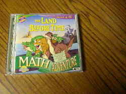 1088 The Land Before Time Math Adventure 1997 Ages 4-8 Cd-rom Win/mac
