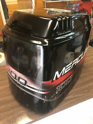 1998 Mercury 100 Hp 2 Stroke Outboard Engine Top Cowl Cover Hood Freshwater Mn