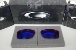 NEW Oakley CONDUCTOR 6 OO RED IRIDIUM POLAR OO4106 Replacement Lens Authentic