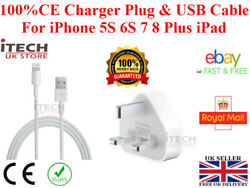 100 Genuine Charger Plug And Usb Cable For Iphone 5s 6s 78 Plus Xs Xr X Max