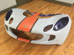 A123B0014J 2006 Lotus Exige front clam repaired.
