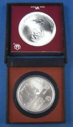 5 Dollar Montreal 1976 Olympia Canada Boxen In Ovp