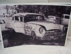1954 Buick Wreck 11 X 17 Photo Picture
