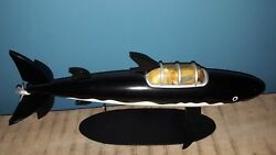 Extremely Rare Tintin The Shark Submarine Figurine Big Statue Le 7000 From 2011