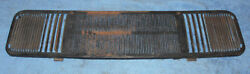 1965 1966 Mustang Fastback Coupe Conv Gt Shelby Orig Dash Pad Radio Vent Grille