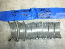Corvair Clevitte 77 Std Used Very Good Main Bearings. Best Made. Fit All Years