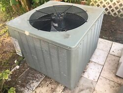Used 4 Ton Air Conditioner Condenser Unit RHEEM Model 13AJA48A01