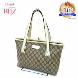 Gucci Bags Tote Gg Plus Pvc Leather 211138002123 A Ladies' (97287