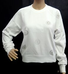 Apparel Chanel Knit Sweater Crew Neck Here 100% Cotton Light (89844