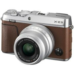 Fujifilm X-E3 XF 23mm F 2 R WR Kit Brown [Limited to 1000 units in Japan]