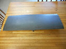 1969 1970 Ford Mustang And Shelby Fastback Fold Down Rear Seat Trap Door Nice Used