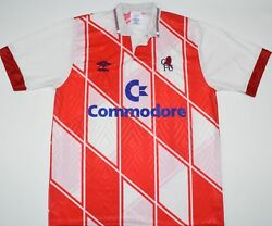 1990-1992 Chelsea Player Issue Umbro Away Football Shirt Size M