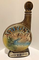 Jim Beam Whiskey Bottles Collector State Of Arizona The Grand Canyon
