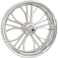 P.M. Dual Disc Forged Front Wheel 23x3.5 Chrome Dixon 2000-07 Harley Touring