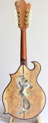 8-string Canadian Spruce Mandolin With Mother Of Pearl Inlay