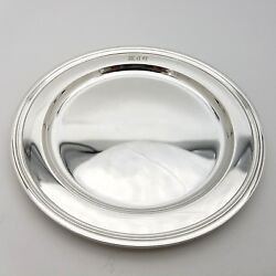 And Co. Makers Sterling Silver 5.5and039in Cookie Saucer Bread Charger Plate