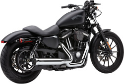 Cobra 6462 PowerPro 4 Inch 2-to-1 Exhaust for 2014-19 Harley XL models - Chrome