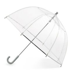 Girls Clear Umbrella Totes Kids Bubble Youth Juniors Childrens See Through Dome $25.22