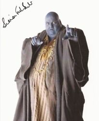 Simon Fisher Becker Dr Who Hand Signed Photo With Coa Uacc Aftal