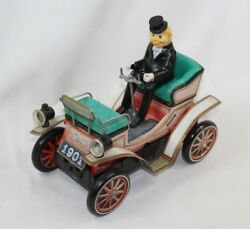 Vintage Rare Collectible Tin Toy Car Battery Operated Century 1901 Works - Japan