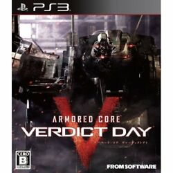 Used Ps3 Armored Core Verdict Day Japan Import