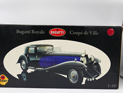 Bauer Bugatti Royale Coupe De Ville 1930 Black And Red - Limited Edition - New