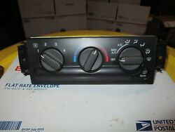 Chevy Chevrolet S10 Blazer Climate AC Heater Fan Temperature Climate Control OEM