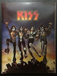 KISS 1976 DESTROYER Press Kit Casablanca Records 8 x 10 photos ARMY