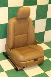 07-13 S-Class Right Passenger Leather Power Bucket Interior Seat Cushions Track
