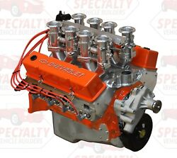 Small Block Chevy 427 500+ Hp Stack Efi Fuel Injection Forged Crank