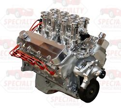 Big Block Chevy 496ci 600hp Crate Engine W/ Hilborn Style Efifuel Injection