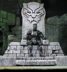 Marvel Legends Black Panther Throne Custom Diorama PRESALE FIG NOT INCL. READ