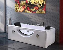 Whirlpool Massage Hydrotherapy Bathtub Hot Tub 2 Two Person Harmony Double Pump