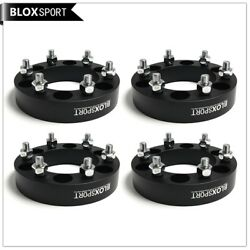 4pcs 25mm Forged Aluminum Wheel Spacers 6x139.7 Black For Nissan Patrol Y61 Y60