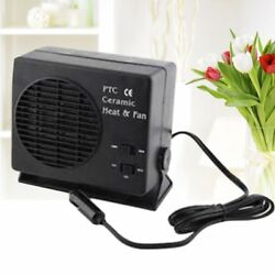 150W300W Auto Car Portable Ceramic Heater Cooler Dryer Fan Defroster Demister