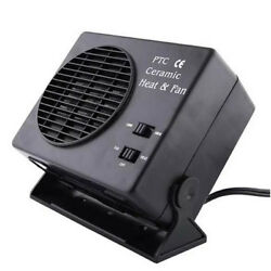 12V 300W Auto Car Portable Ceramic Heater Cooler Dryer Fan Defroster Demister TY
