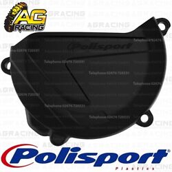 Polisport Black Clutch Cover Protector For Yamaha YZ 250X 2018 Motocross Enduro